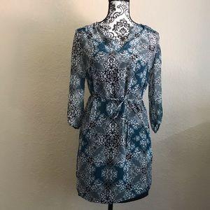 🔴SALE Banana Republic Blue Designed Dress